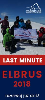 wyprawa na Elbrus 2018