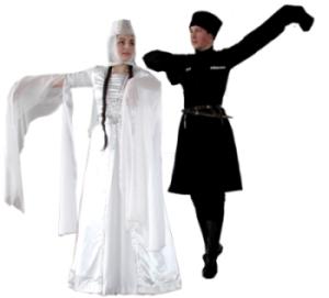 taniec gruzi�ski