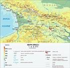 Mapy Kaukazu Mapy Gruzji Gory Kaukaz Gruzja Armenia