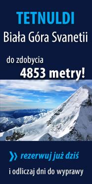 TETNULDI 4853 m n.p.m. - Biała Góra Svanetii