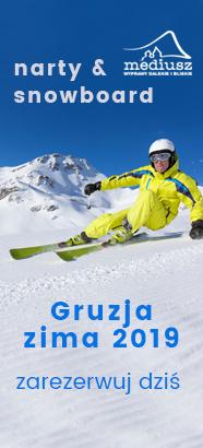 Narty i snowboard w GRUZJI 2019